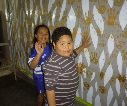 6.Community handprints